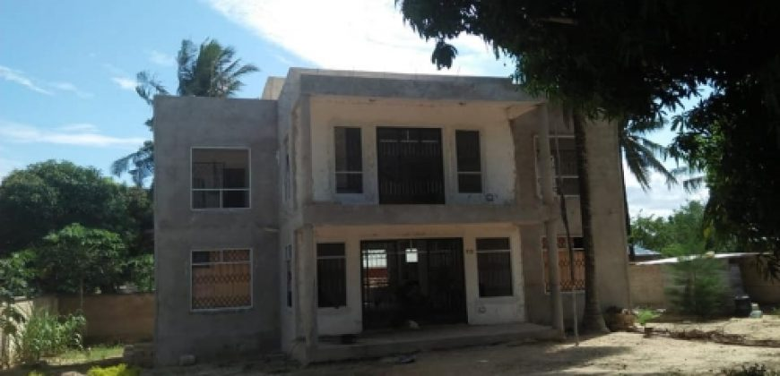 4 BEDROOM MAISONETTE AT MAJAONI-SHANZU